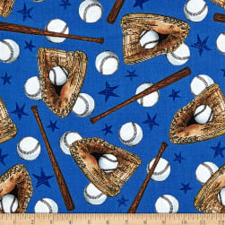 Allstars Baseball White Fabric