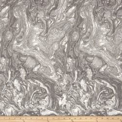 """118"""" Wide Quilt Back  Marble Silver"""