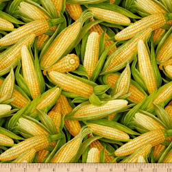 Farmer John Garden Corn Fabric