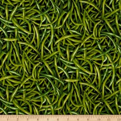 Farmer John Garden Green Beans Fabric