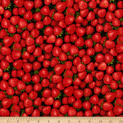 Farmer John Garden Strawberry Fabric