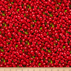 Farmer John Garden Cherries Fabric