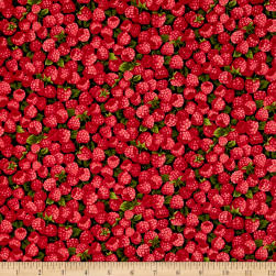 Farmer John Garden Raspberries Fabric
