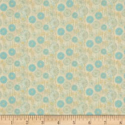 Flights Of Fancy Floral Multi Blue Fabric