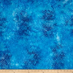 Wilmington Batiks Mini Dots Sea Blue Fabric