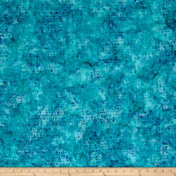 Wilmington Batiks Mini Dots Aqua Fabric