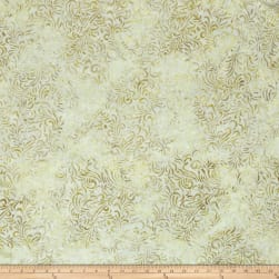 Wilmington Batiks Flourish Ivory Fabric