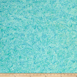 Wilmington Batiks Flourish Robin Egg Blue Fabric