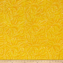 Wilmington Batiks Feathers Yellow