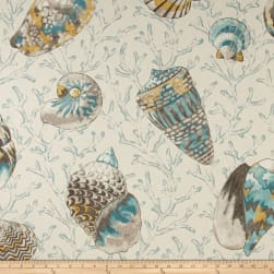 P Kaufmann Ocean Treasures Caribbean Blue Fabric
