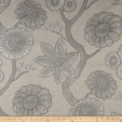 P Kaufmann Gloss Chintz Platinum Fabric