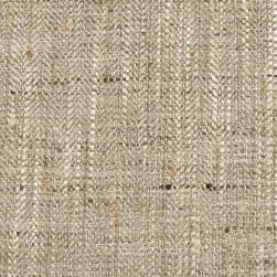 P/Kaufmann Handcraft Basketweave Pescara Moonstone Linen Fabric