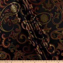Eroica Ankara Jacquard Midnight Fabric