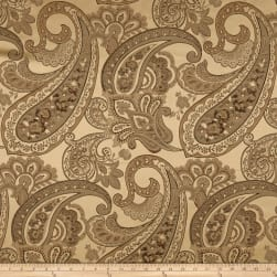Eroica Candytuft Paisley Jacquard Antique Fabric