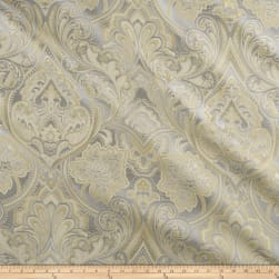 Eroica Hollyhock Damask Jacquard Delft Fabric