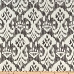 Swavelle Indoor/Outdoor Rivoli Graphite Fabric