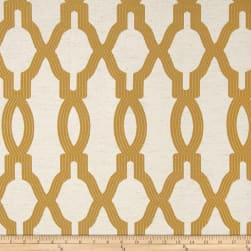 Eroica Yorkshire Jacquard Gold Fabric