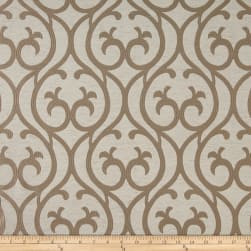 Eroica Cambridge Jacquard Beige Fabric