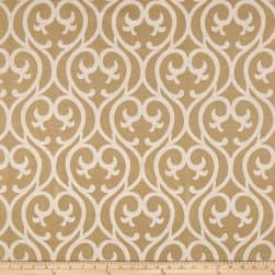 Eroica Cambridge Jacquard Gold Fabric