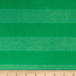 Lightweight Sweater Knit Medium Kelly Green Stripes on Spring Green