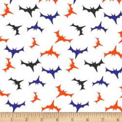 Fabric Merchants Cotton Spandex Jersey Knit Bats In