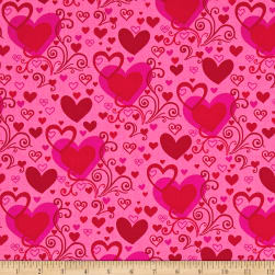 Forever Yours Hearts Pink