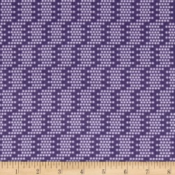 Sew It- Quilt It- Love It! Dots Purple Fabric