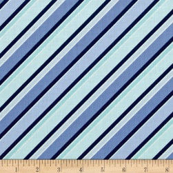 Sew It- Quilt It- Love It! Stripe Blue