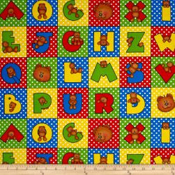 Alpha-Bears Small Letter Blocks Multi