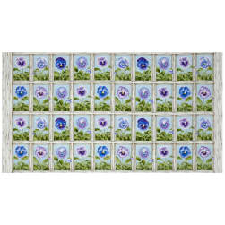 Pretty As A Pansy Window Box 23.5