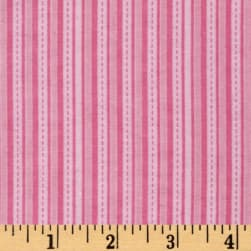 Alpine Flannel Stripe Pink