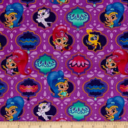 Nickelodeon Shimmer And Shine Badges Purple