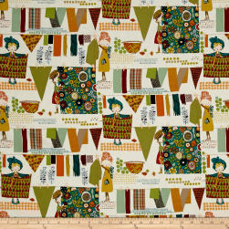 Alexander Henry Woodland Natural Fabric