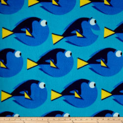 Disney Fleece Finding Dory Topaz Fabric