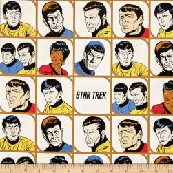Star Trek: Galaxy Pop Characters in Blocks White