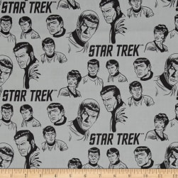 Star Trek: Galaxy Pop The Crew Stone Fabric