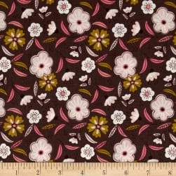 Captivate Floral Dark Taupe