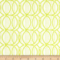 Modern Mixers III Chain Lime Fabric