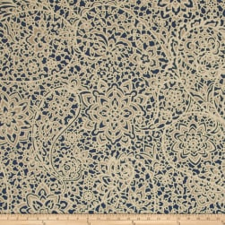 Magnolia Home Fashions Stella Navy Fabric