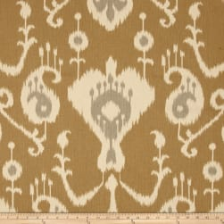 Magnolia Home Fashions Java Ikat Umber Fabric