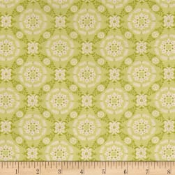 Moda Fleurs Circle Lattice Sprout Fabric