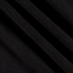 Telio Samba Viscose Gauze Black Fabric