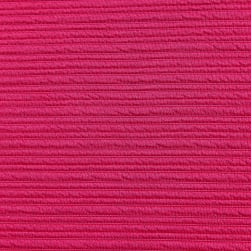 Telio High Low Pique Knit Fuschia Fabric
