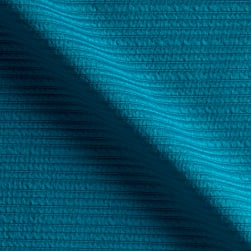 Telio High Low Pique Knit Teal Fabric