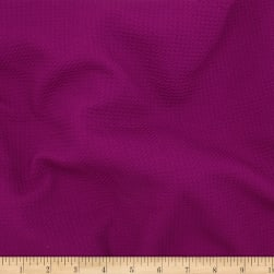 Telio Paola Pique Liverpool Knit Magenta Fabric