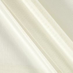 Telio Stretch Nylon Mesh Knit Ivory