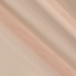 Telio Stretch Nylon Mesh Knit Soft Pink Fabric