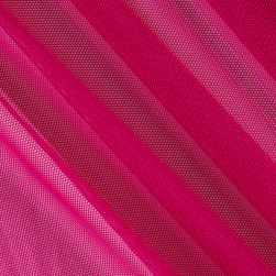 Telio Stretch Nylon Mesh Knit Fuschia Fabric