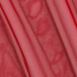 Telio Stretch Nylon Mesh Knit Scarlett Fabric