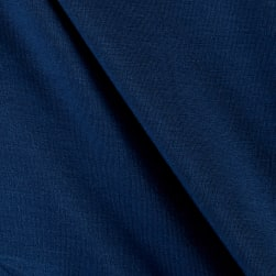 Telio Rayon Jersey Knit Captain Blue Fabric